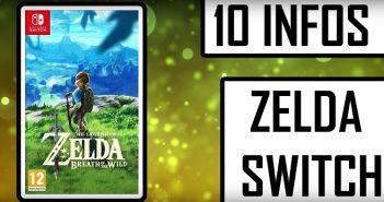 10 infos (histoire, personnages, prix...) sur le Zelda Switch en vidéo !