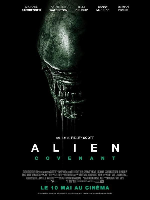 Alien : Covenant dévoile son affiche et sa bande-annonce finale
