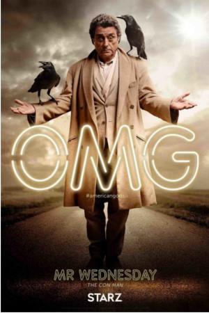 American Gods : des affiches divines pour la série événement
