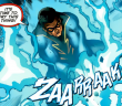 Black Lightning nous sort son plus beau costume ! .
