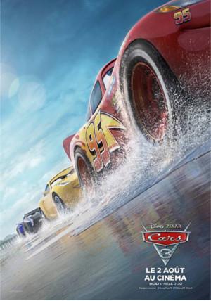 Cars 3 : une nouvelle affiche et de nouveaux personnages présentés