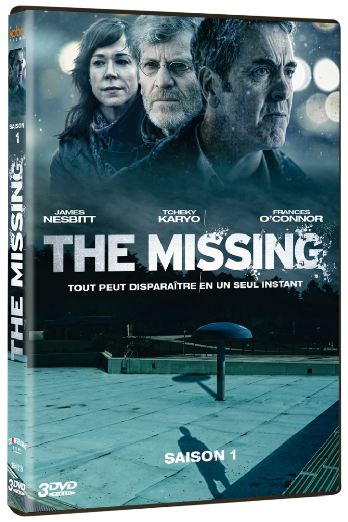 [Concours] The Missing 3 Coffrets DVD de la saison 1 à gagner_THE MISSING 1-Packshot