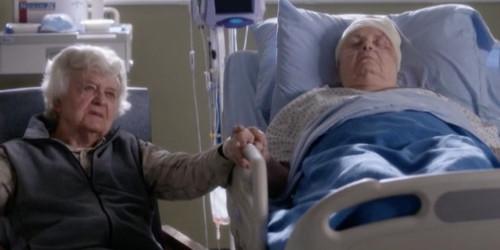 Couple de vieux amoureux Grey's Anatomy