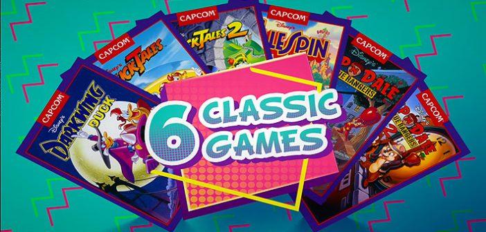 Capcom ne manque décidément pas d'idée ces derniers temps, et use une fois de plus du recyclage avec Disney Afternoon Collection.