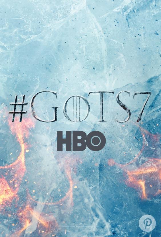 Game of Thrones saison 7 : une affiche teaser de feu et de glace