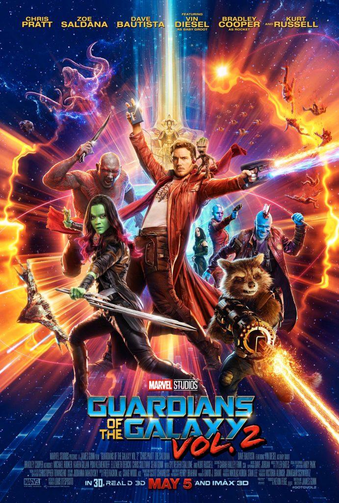 Les Gardiens de la Galaxie Vol.2 : un nouveau trailer avec Kurt Russell !