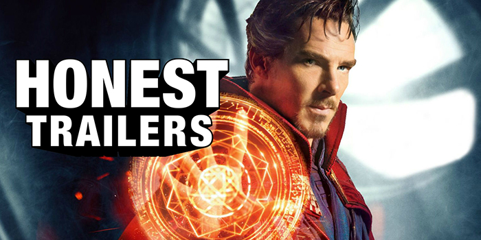 Honest Trailers se jette à corps perdu sur Doctor Strange !
