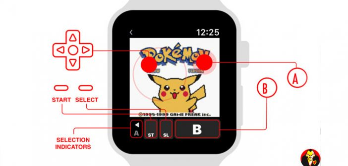 A tous les fans de Pokémon jaune possédant la montre high-tech de chez Apple, cette news est faite pour vous !