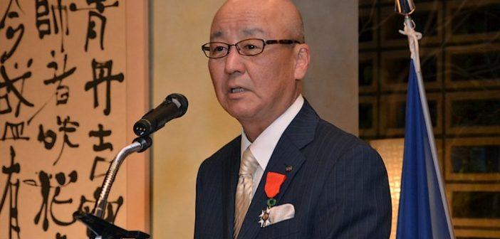 Le président de Namco Bandai reçoit la Légion d'Honneur