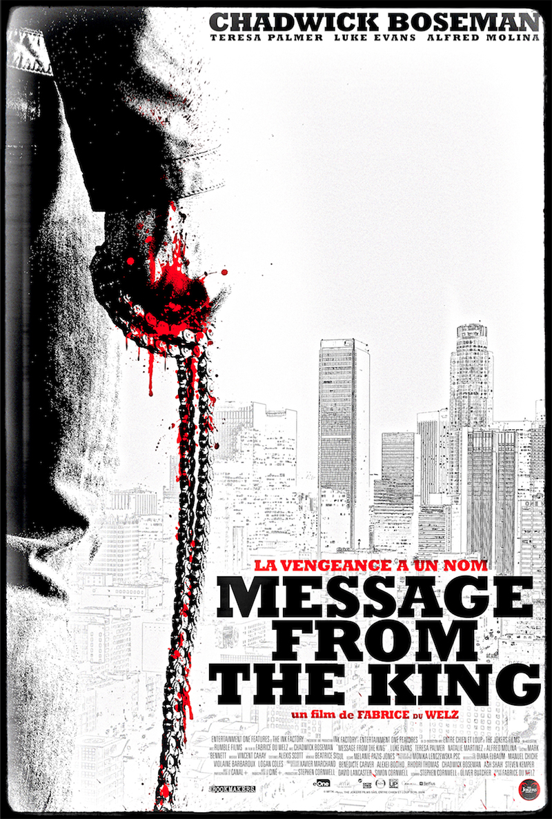 Message from the King : un teaser violent avec Chadwick Boseman !