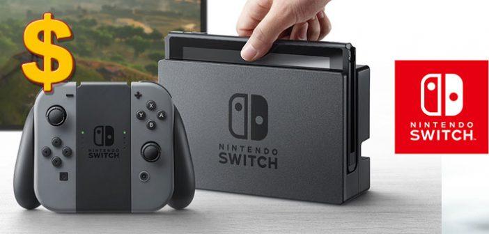 Durant sa première semaine de vente la Nintendo Switch bat des records de vente et rattrape largement l'échec cuisant de la Wii U !