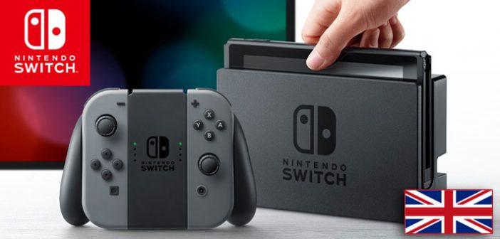 Games Industry nous livre les premiers chiffres de vente britanniques de la nouvelle Nintendo Switch sortie la semaine passée.