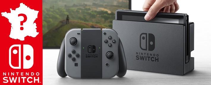 Quelle région française s'est le plus jetée sur la Nintendo Switch ?