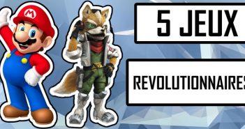5 jeux qui ont révolutionné le monde des jeux vidéo