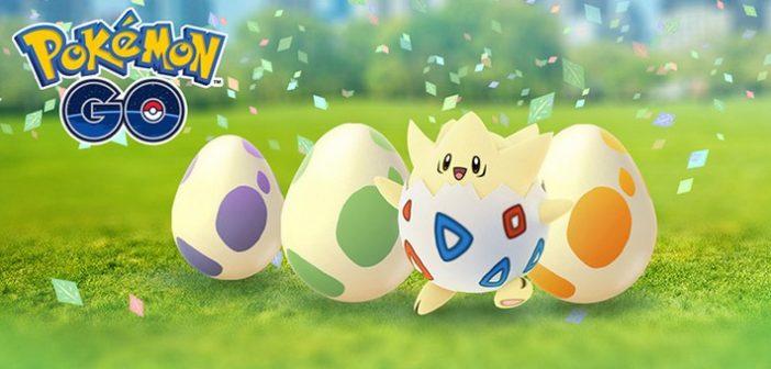 C'est Pâques et le printemps, cherchez les oeufs Pokémon !