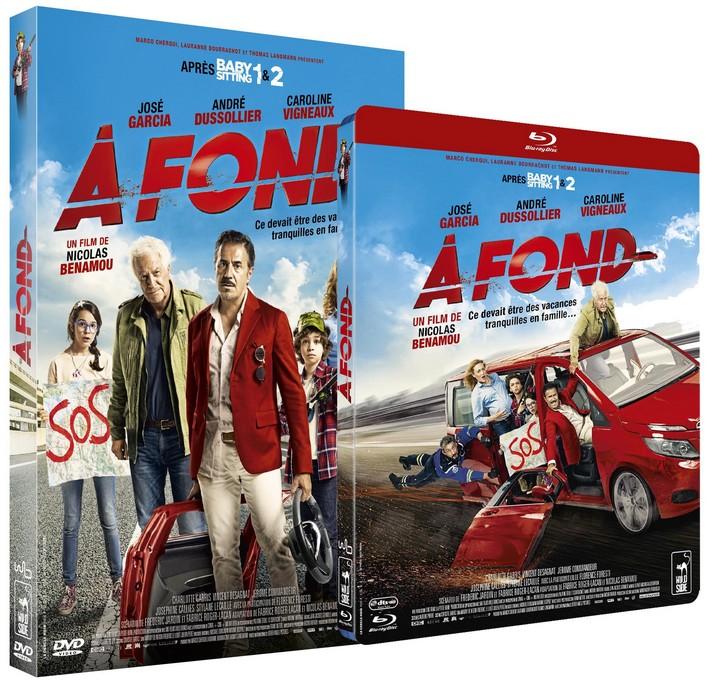 [Concours] À FOND, 3 DVD +1 Blu-Ray à gagner