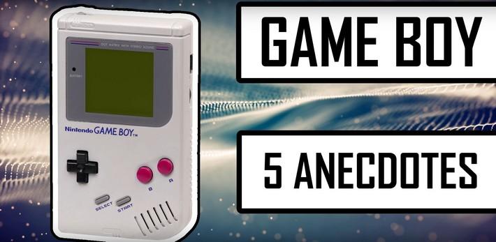 Découvrez 5 anecdotes méconnues sur la Game Boy !