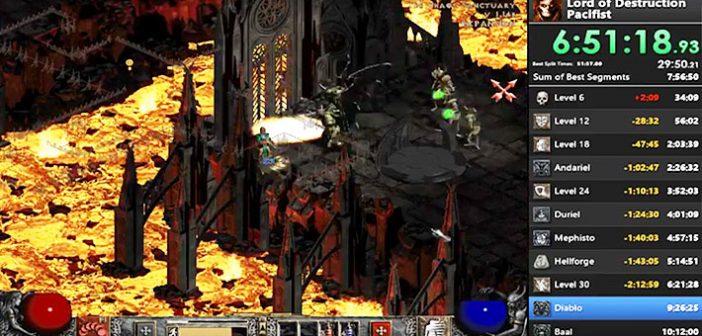 Incroyable mais vrai, un joueur se distingue en finissant le célèbre hack and slash de Blizzard, Diablo 2, d'une manière peu orthodoxe !