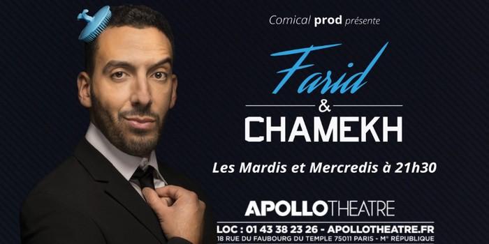 [Critique Théâtre] Farid Chamekh : la maîtrise parfaite des codes du stand-up ?