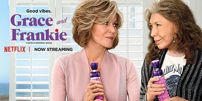 Grace and Frankie obtient sa saison 4 et une Friends s'invite !