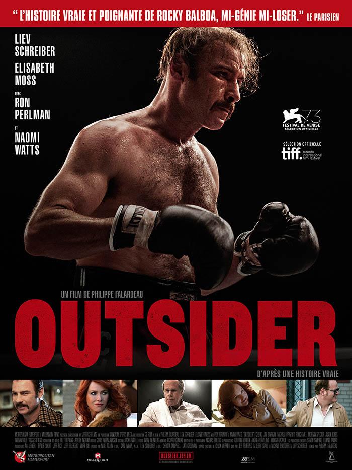 Outsider : le trailer de l'histoire vraie du boxeur qui a inspiré Rocky !