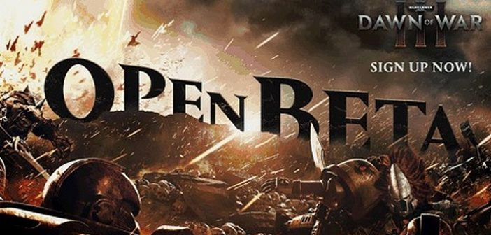 Warhammer 40,000 Dawn of War III entre en open bêta fin avril !