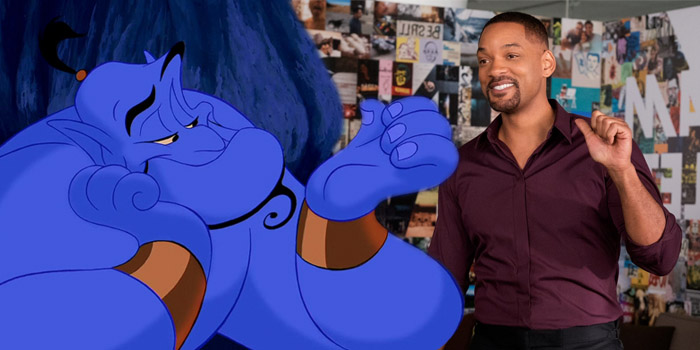 Will Smith est en pourparlers pour incarner le Génie de Aladdin !