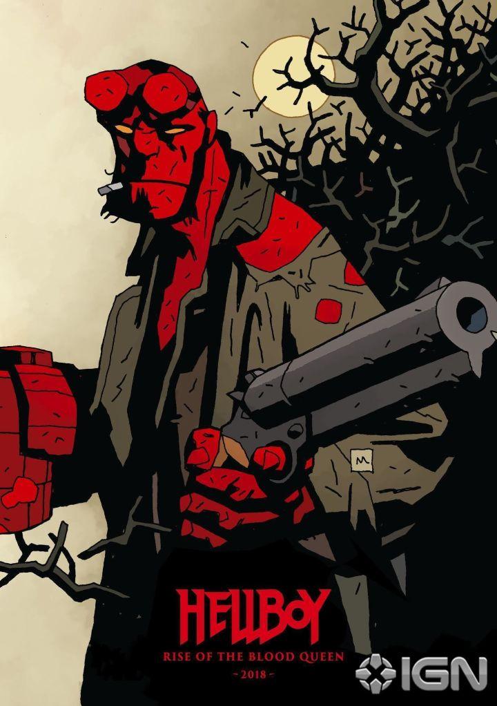 Hellboy reboot promo art