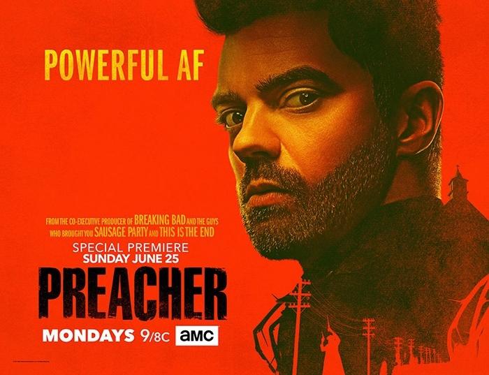 La saison 2 de Preacher s'affiche avec trois posters officiels !