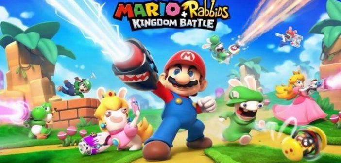 Mario et Les Lapins Crétins des infos sur le crossover ont-elles fuité