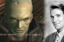 Mauvaise nouvelle pour les fans de Metal gear Solid 2, puisque nous apprenons le décès de l'acteur John Cygan, doubleur de Solidus Snake.