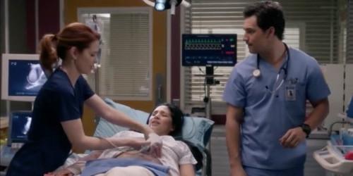 Patiente tumeur au coeur Grey's Anatomy