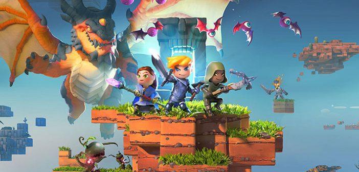 """505 Games se met au bac à sable en nous proposant Portal Knights. Mais pourquoi investir dans ce titre semblant être """"a priori"""" un clone de Minecraft ?"""