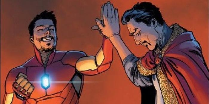 Avengers : Infinity War : Dr Strange et Iron Man réunis sur une photo !