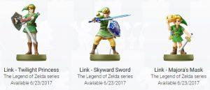 [E3 2017] Nintendo fait aussi le plein d'amiibo à l'E3_link