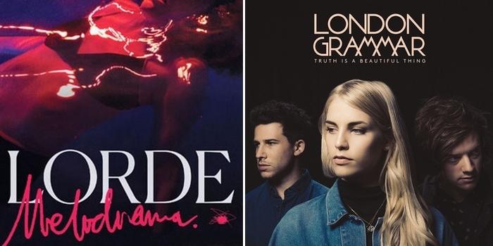 [Critique croisée] Melodrama de Lorde / Truth is Beautiful Thing de London Grammar