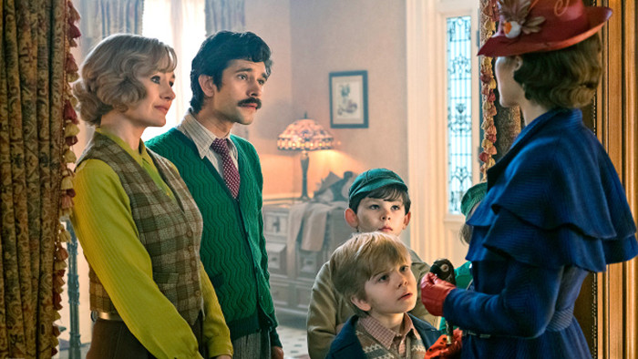 Mary Poppins Returns fait le plein d'images supercalifragilisticexpialidocious !