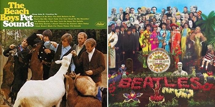 5 raisons de préférer le Pet Sounds des Beach Boys au Sgt. Pepper des Beatles