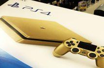 Après une série limitée finition dorée, la machine devrait revenir pour très bientôt dans sa version Playstation 4 Slim Gold.