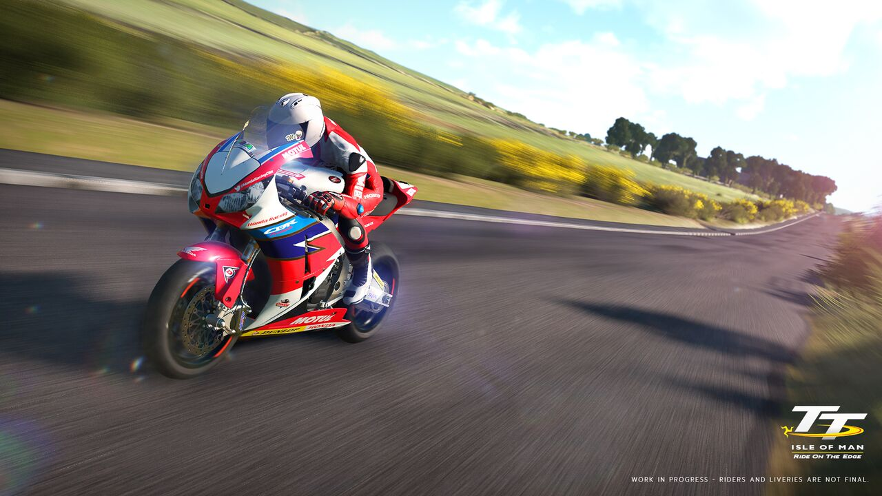 TT Isle of Man : Ride On The Edge nous offre quelques images