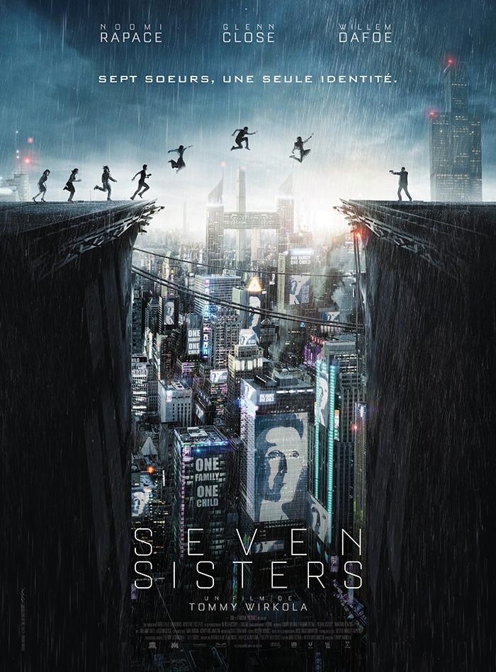 Seven Sisters : un thriller futuriste avec 7 Noomi Rapace en trailer !