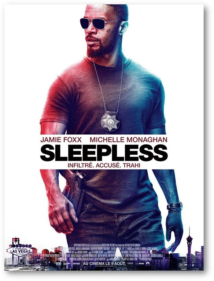Sleepless : une bande-annonce épileptique avec Jamie Foxx !