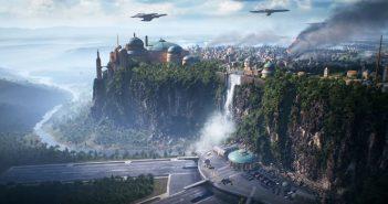 Electronics Arts est fier de nous présenter la future map de Star Wars Battlefront 2, Assaut sur Theed. Retour donc sur un environnement tiré de l'épisode 1.