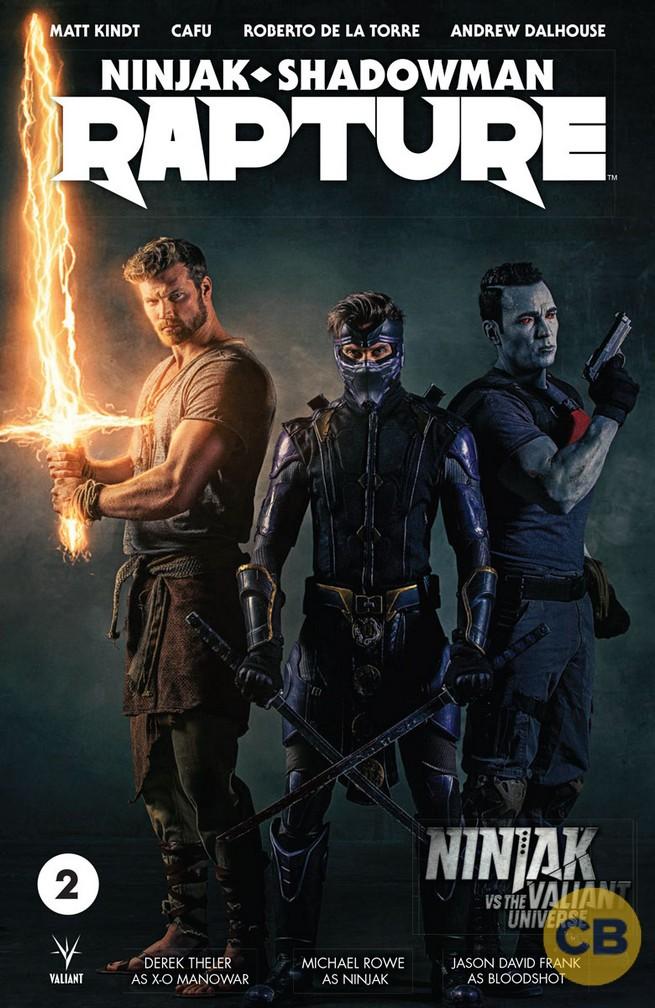 Un teaser annonce une série Ninjak vs The Valiant Universe !