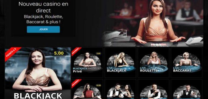 Des jeux de casino en Live sur mobiles