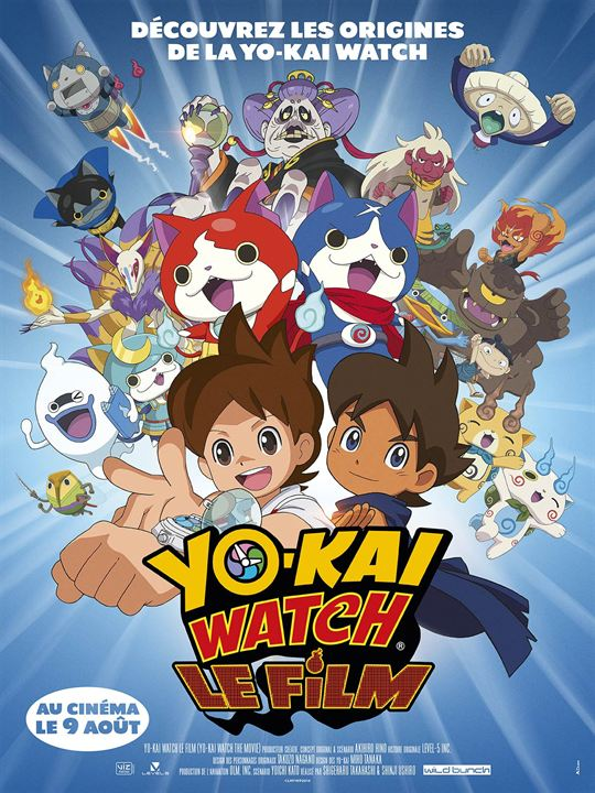 [Concours] Yo Kai Watch des places de ciné et des goodies à gagner !