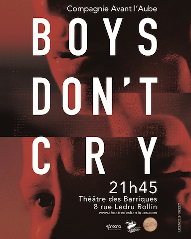 [Avignon 2017] Boys don't cry l'homme, cet être fragile1