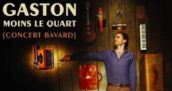 [Avignon 2017] Gaston moins le quart de la poésie à l'état pur