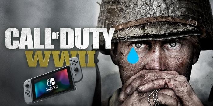 Call of Duty WWII : Pas de portage prévu sur Switch