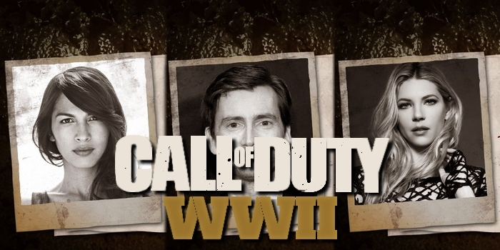 David Tennant, Elodie Yung et Katheryn Winnick au casting vocal de Call of Duty WWII
